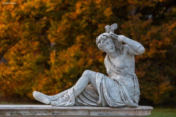 Galatea's fountain - detail - in the garden of Ninfeo of Villa Litta, Lainate, near Milan (Italy)