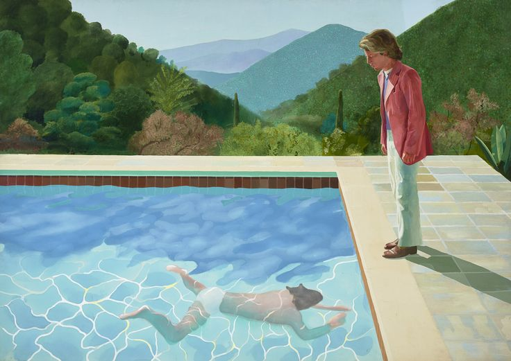 EXHIBITION. The extensive work of David Hockney is being showcased in London.