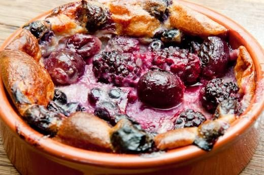 There is still time to enjoy some berry good and essential summer treats. Why not give this delicious clafouti recipe a try?   Find the recipe here: http://thehappyegg.co.uk/clafouti/