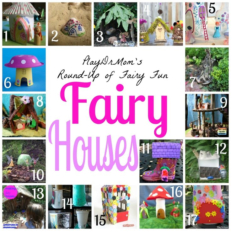 Make a Fairy House: A Round-Up of Ideas -