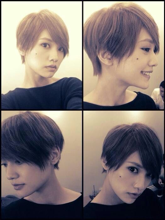 Love Rainie yang cheng lin's short hairstyle.