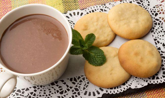 Chocolate con galletas