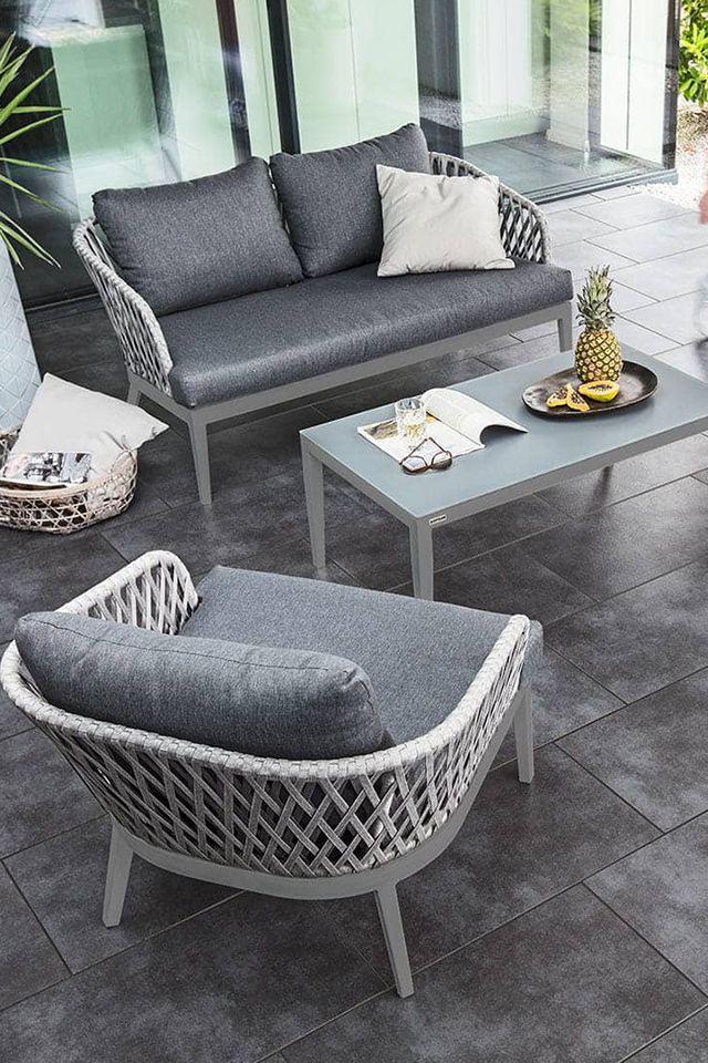 Kettler Serie Sunny Loungemobel Fur Indoor Und Outdoor Garten Und Freizeit De Gartenmobel Garten Aluminium Lounge Mobel Gartenmobel Mobel