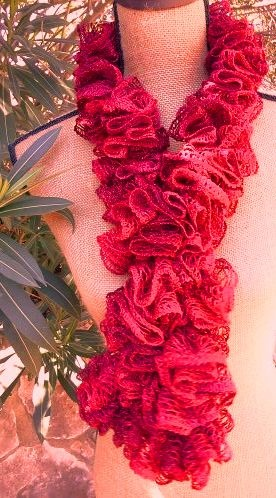 Crochet Scarf Pattern Using Red Heart Sashay : 17 Best images about Red Heart Boutique Sashay on ...