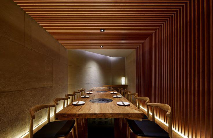 Tsuruichi Yakiniku Beijing / Golucci - 谷德设计网