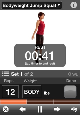 iphone app for weight tracking