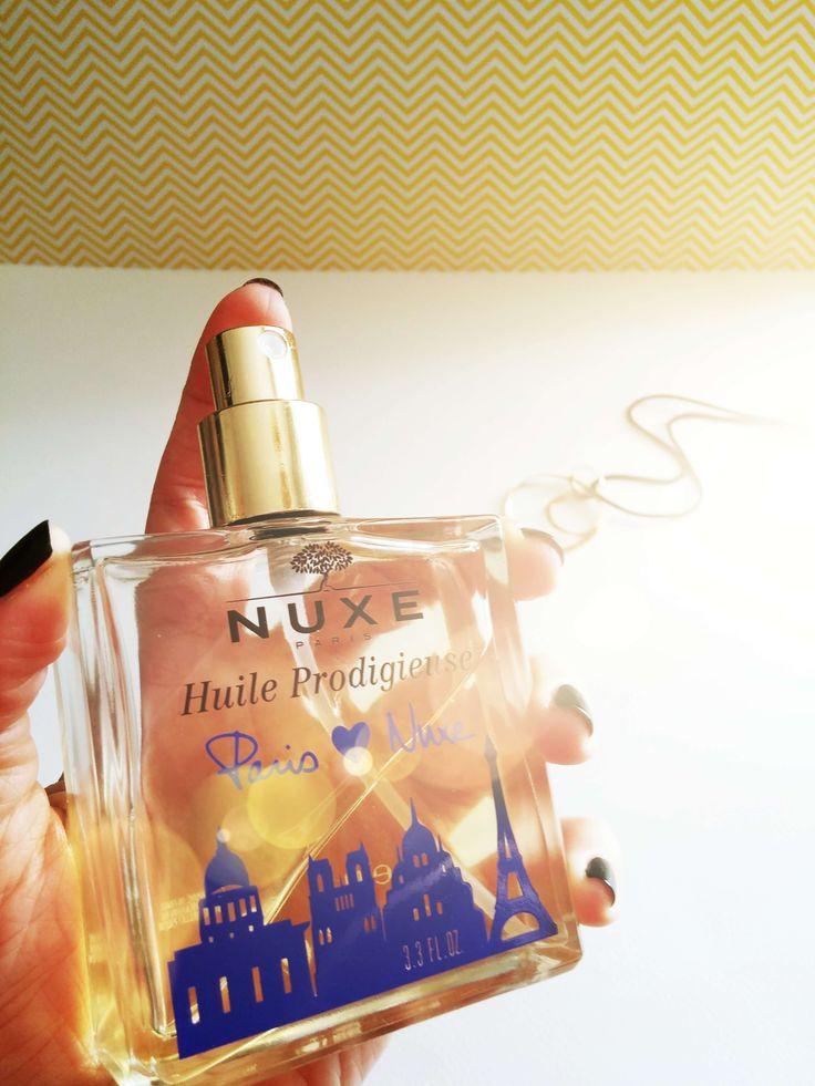 Review: Nuxe Huile Prodigieuse - Violetmimosa