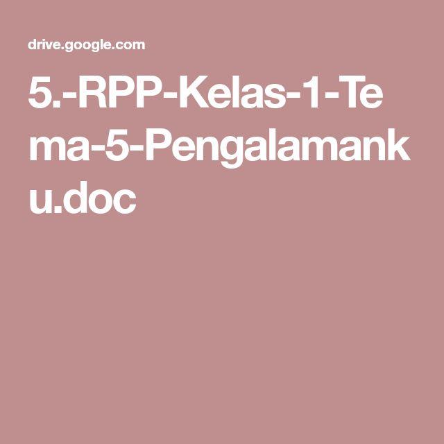 5.-RPP-Kelas-1-Tema-5-Pengalamanku.doc