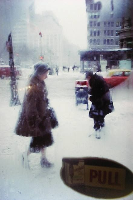 by Saul Leiter, contemporaries Esther Bubley, Ellen Levitt, and Ruth Orkin