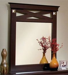 <p>This classic mirror frame will enchant the look of any wall space with its very presence....</p>