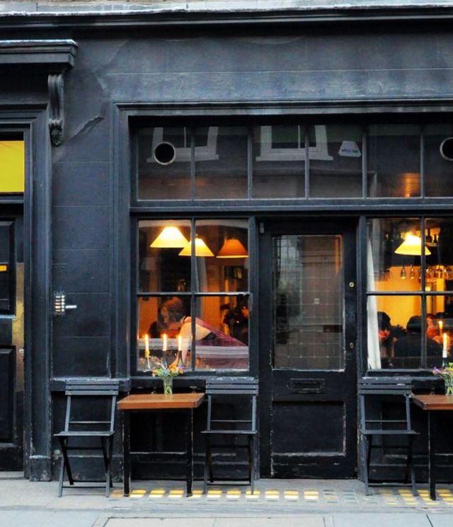 Andrew Edmunds restaurant, Lexington Street, Soho