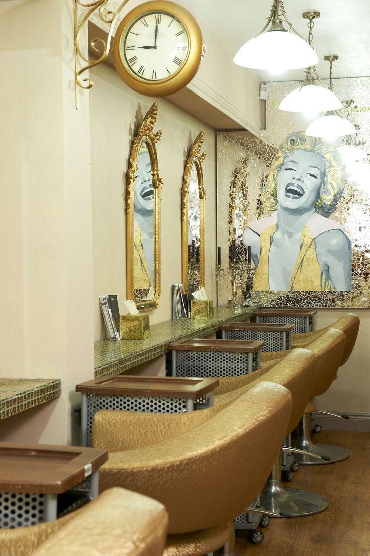 420 best Inspiring Salon Interiors images on Pinterest | Hair salon ...