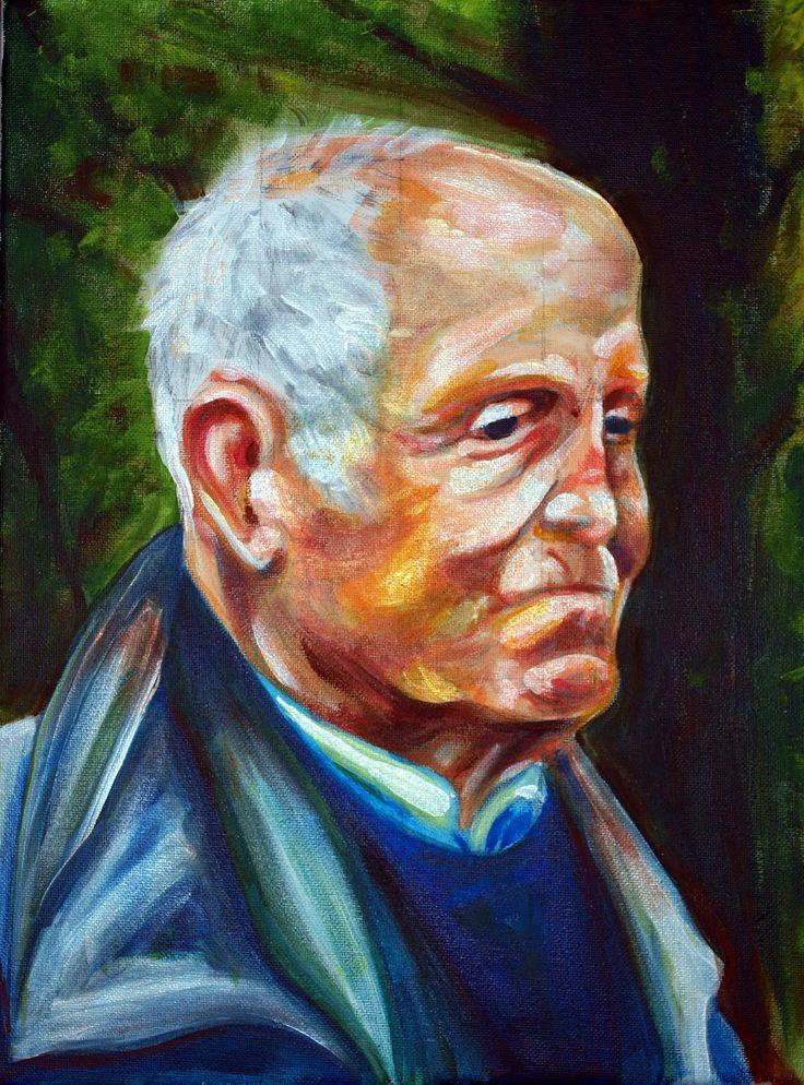 Wisdom - Portrait - (30 cm x 40 cm)