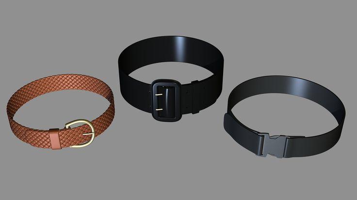 Geometry Practice ( More Belts ), Henning Lande on ArtStation at https://www.artstation.com/artwork/geometry-practice-more-belts