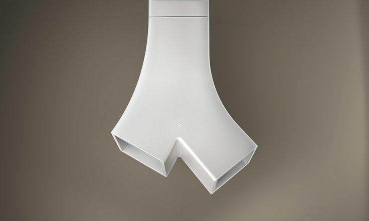 Cappe: Cappa Ye da Elica | Design: Fabrizio Crisà | Anno: 2014 | Materiali: Cristalplant | #cucina #design #isaloni #salonedelmobile #2014 #MilanoDesignWeek #trend #eurocucina |