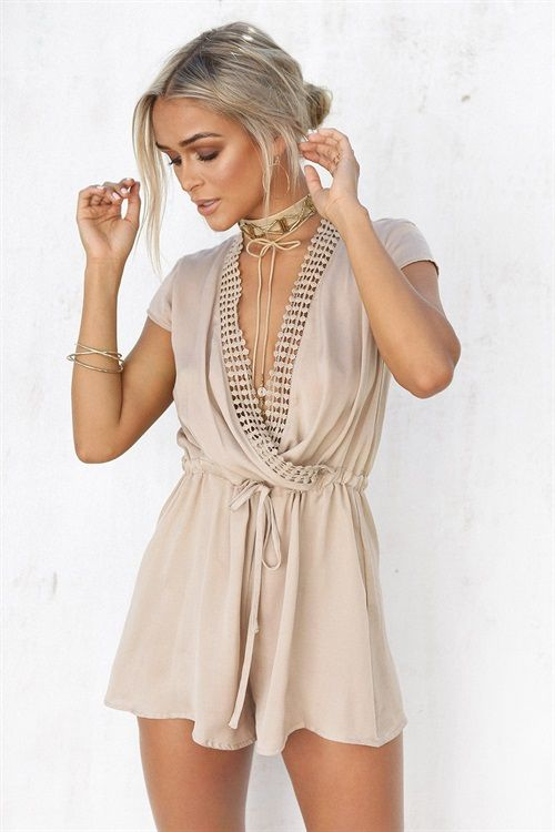 Buy Angelika Chain Playsuit Online - Playsuits - Women's Clothing & Fashion - SABO SKIRT