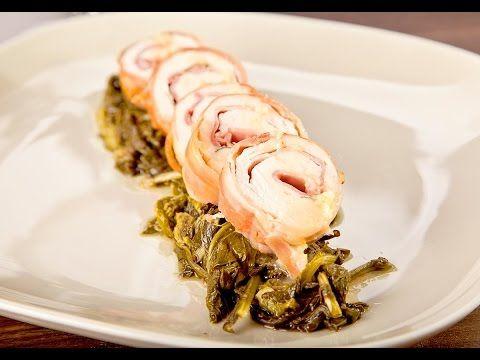 ♨️ GOURMANT MAGAZINE VIDEO RICETTA ⟼ Petto di Pollo in Crosta di Prosciutto Crudo con Taleggio e Salvia