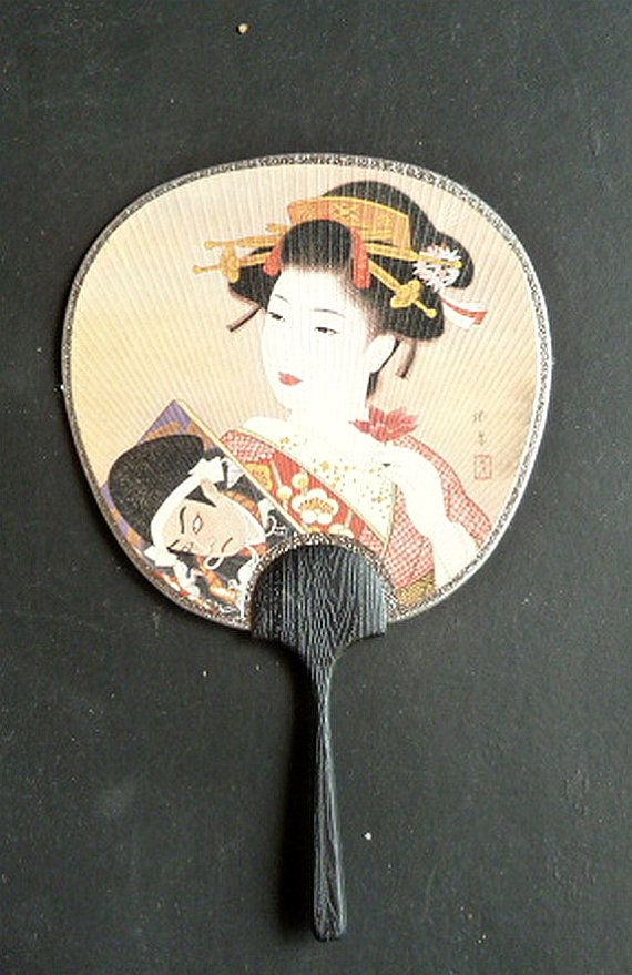 99 best images about fan on pinterest large fan spanish and lace - Japanese paddle fan ...