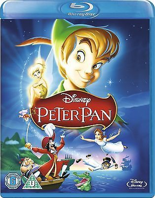 PETER PAN CLASSIC DISNEY BLU-RAY DISC REGION-FREE BRAND NEW SEALED in DVDs & Movies,DVDs & Blu-ray Discs,   eBay