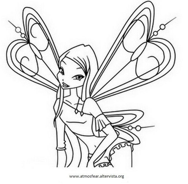 Pin By Sophie On Bloom Cartoon Coloring Pages Disney Coloring