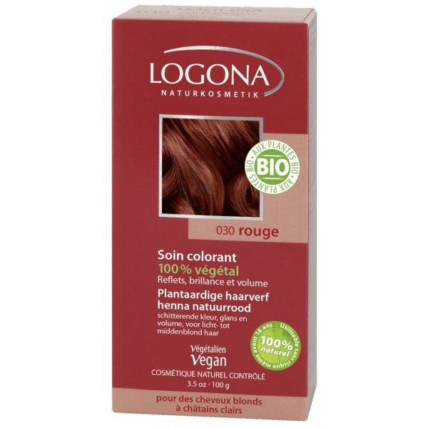 Soin Colorant 100% Végétal Rouge