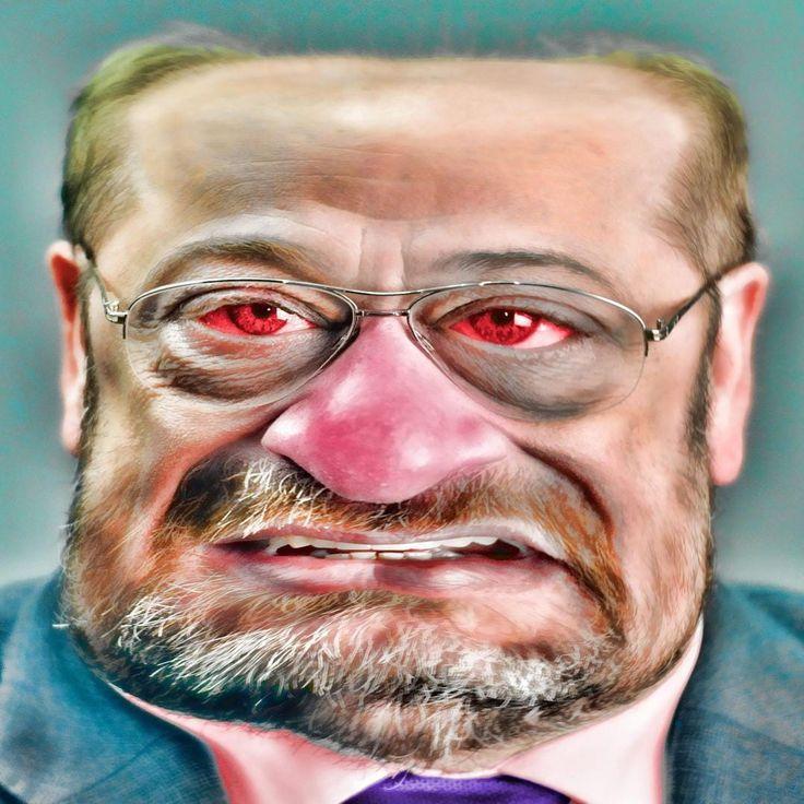 Wer hätte das ernsthaft erwartet? Jetzt wird es immer offensichtlicher. Martin Schulz schielt nicht nur nach der Flasche, sie hat ihn schon wieder im Griff.