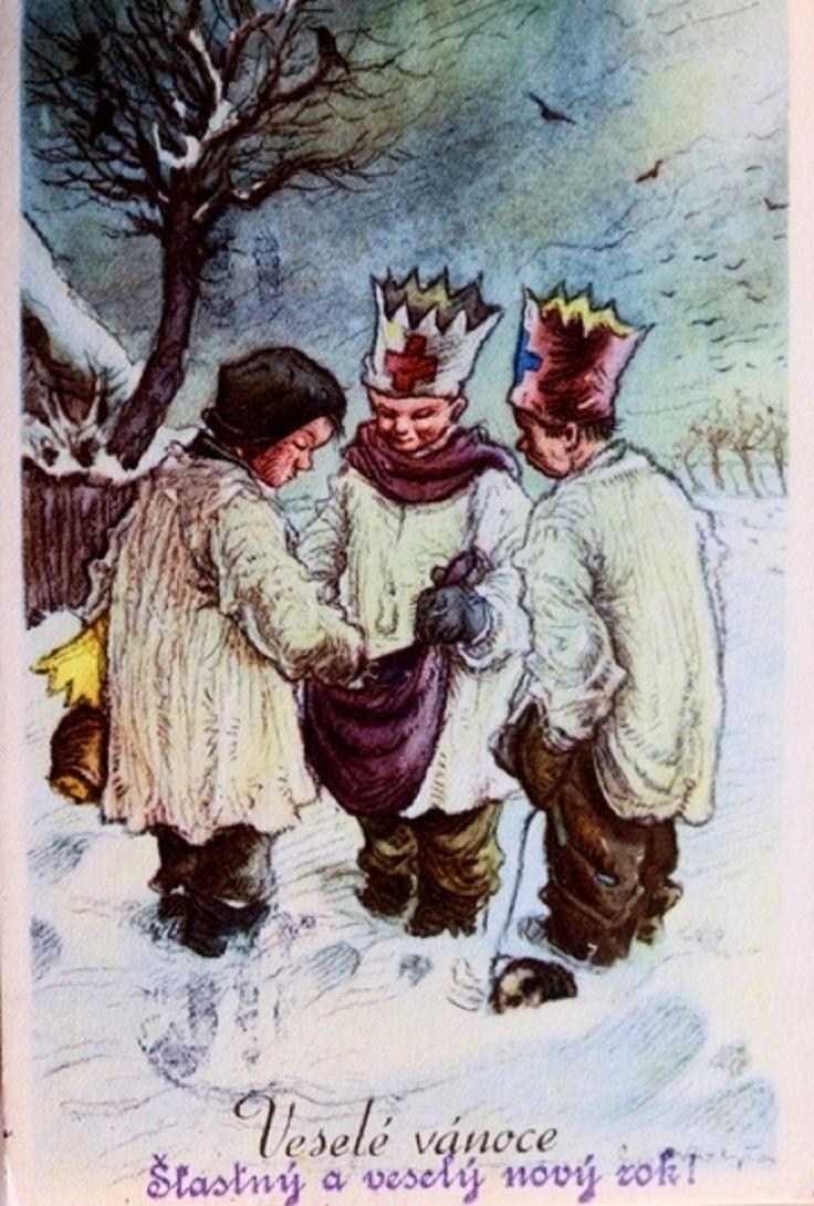 50 best czech vintage christmas cards images on pinterest czech in history old czech christmas cards postcards m4hsunfo