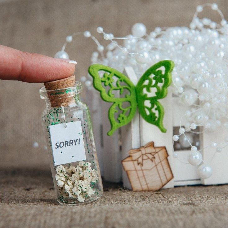 Inspirational Wish Jar Personalized Gift For Her Sparkle