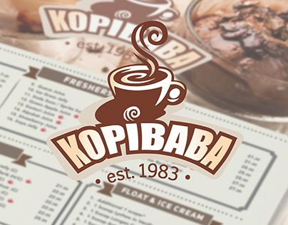 Kopi Baba Menu Redesign