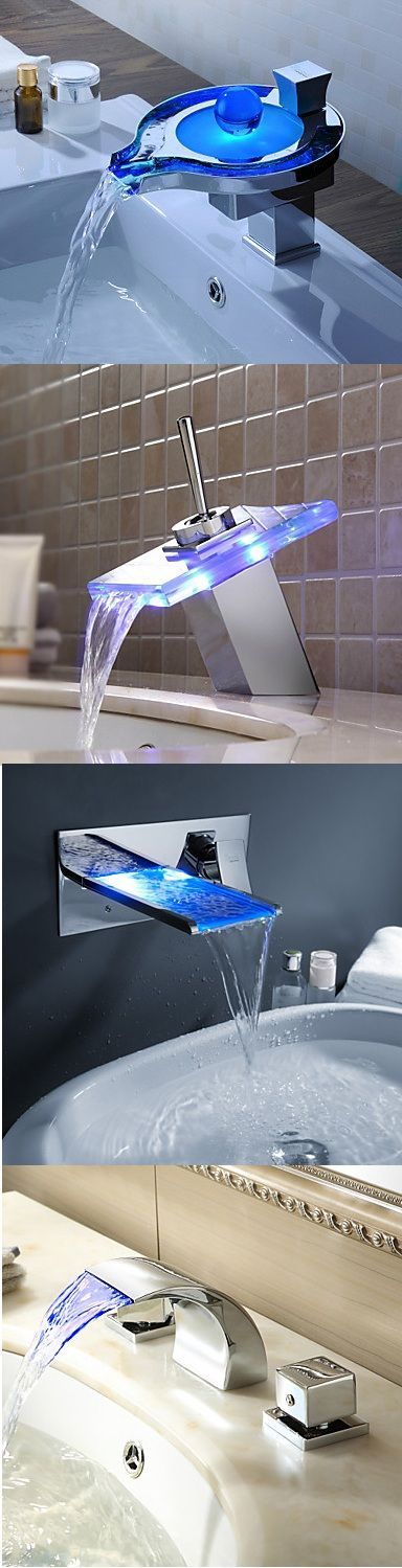 Up to 70% Off on your LED color changing faucets. It changes the color of water depending on its temperature. Isn't it cool? Why not to get one for your home?