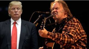 """Neil Young to Donald Trump: Don't Rock in My Free World - Donald Trump's use of """"Rockin' in the Free World"""" was not authorized. Mr. Young is a longtime supporter of Bernie Sanders."""