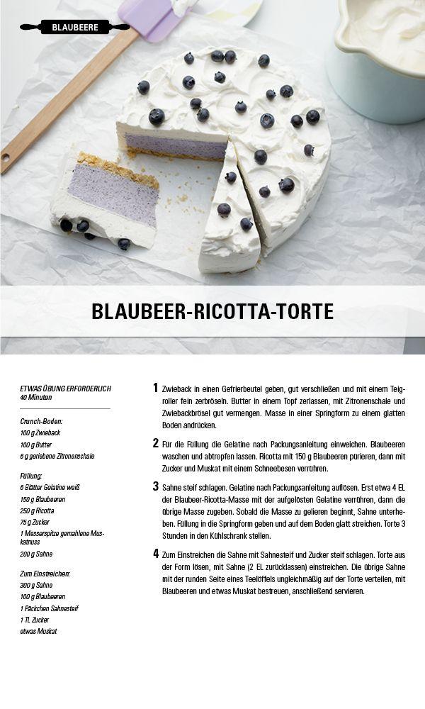 Blaubeer-Ricotta-Torte. Besuche jetzt die Gewürzwelt von Juzo – Kompressionsstrümpfe für jeden Geschmack.