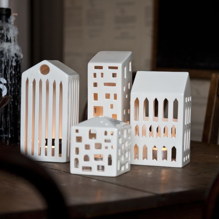 Urbania Votive Small - Mette Bache and Barbara Bendix Becker - Kähler - RoyalDesign.com