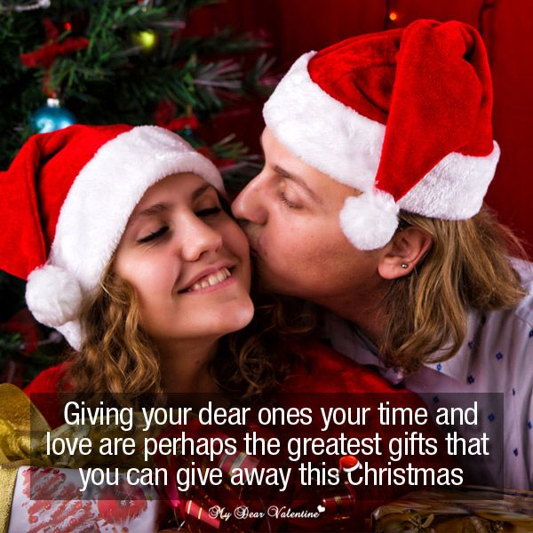 Giving your dear ones your time and love are perhaps the greatest gifts that you can give away this Christmas