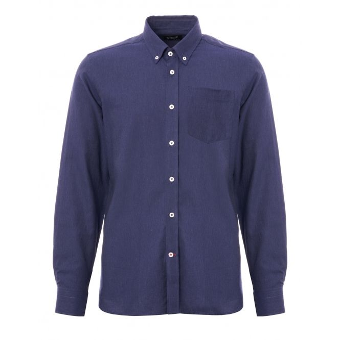 7b26adc42a2 Gloverall Chambray Shirt - Blue | Gloverall | Shirts, Mens tops ...