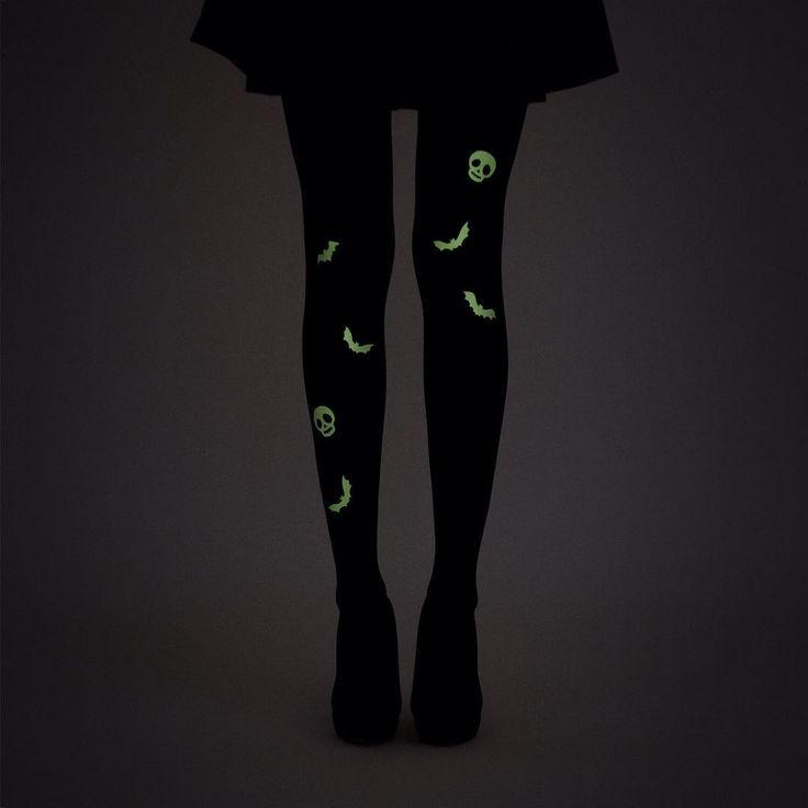 virivee Glow-in-the-dark tights for Halloween! ☠⠀