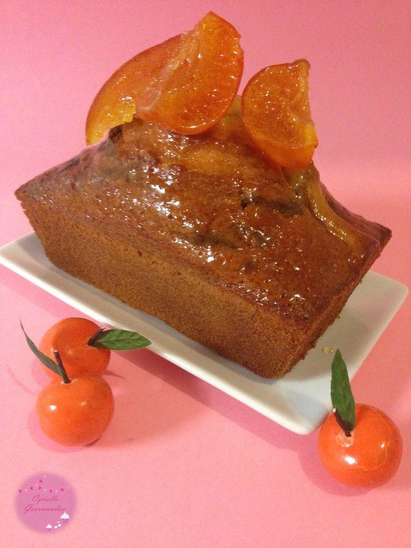 Cake marbré Yuzu-Thé Matcha {Bataille Food#20}