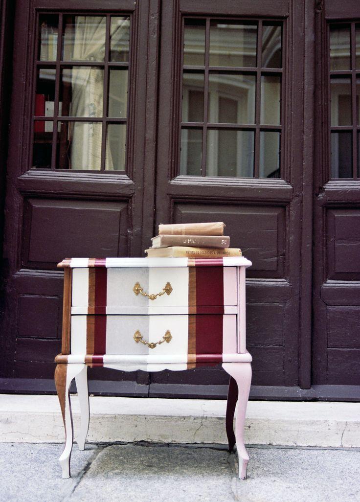 Restaurar mesillas de noche taller y medio muebles antiguos pinterest chalk paint - Mesillas de noche clasicas ...