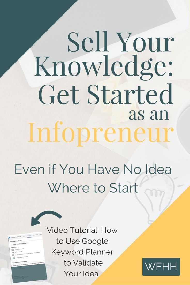 It's never been a better time to be an infopreneur. If you have knowledge on a particular subject or tons of practical experience, you can earn money online selling what you know. As an infopreneur you get to help others solve their problems while getting paid to share your wisdom. Click through to take the first step in becoming an infopreneur!