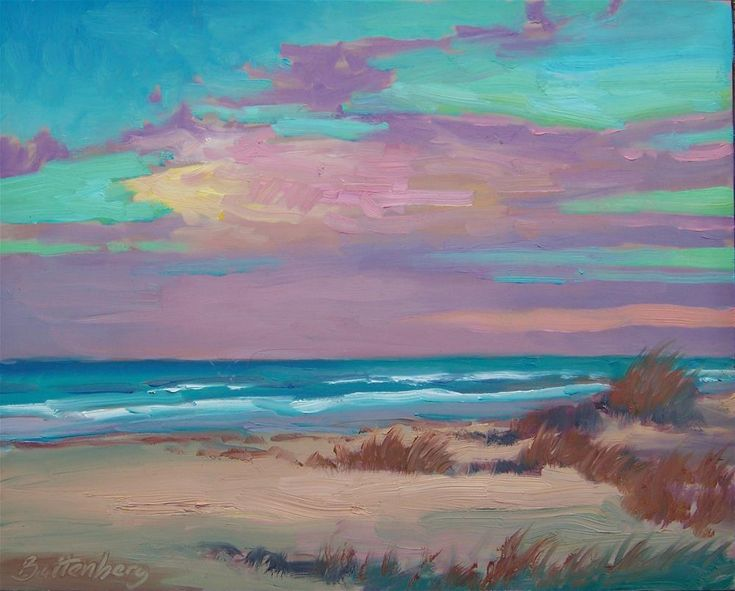 """Calm Evening"" original fine art by Mike Battenberg"