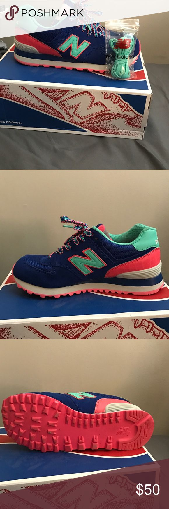 New balance classic traditional women's shoe New balance classic traditional women's shoe in multi color, comes with extra pair of shoestrings. New Balance Shoes Sneakers