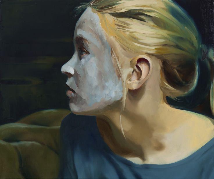 Psychopomp Club 2014 oil on canvas 46x55cm / Markus Akesson / Markus Åkesson