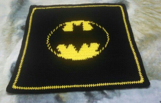 Batman Baby Blanket Crochet Pinterest Babies Baby