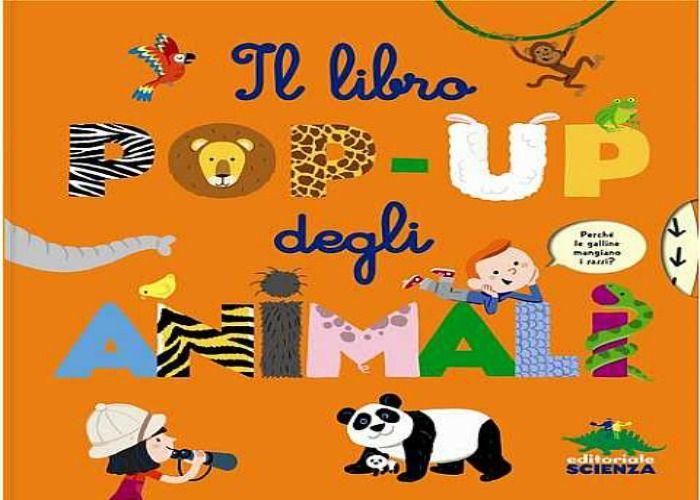 """""""Il libro Pop-Up degli Animali"""" di Sylvie Baussier"""
