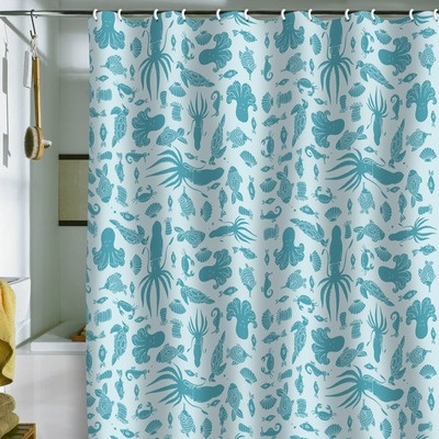 Outdoor Curtains For Porch Nature Shower Curtain