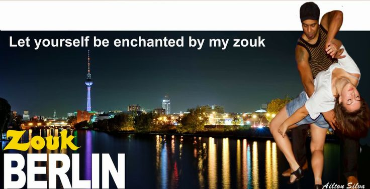 ARTDANCE TANZSTUDIO: ZOUK TANZKURSE IN BERLIN MIT AILTON SILVA