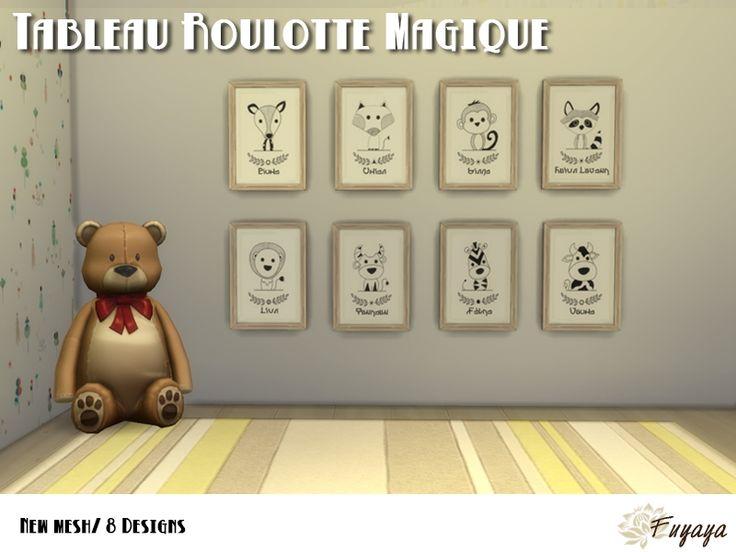 Tableaux Roulotte Magique