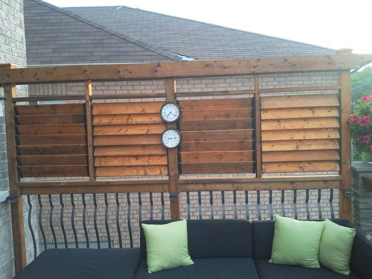 Flex Fence Creation By Thommoknockers Custom Decks Louver