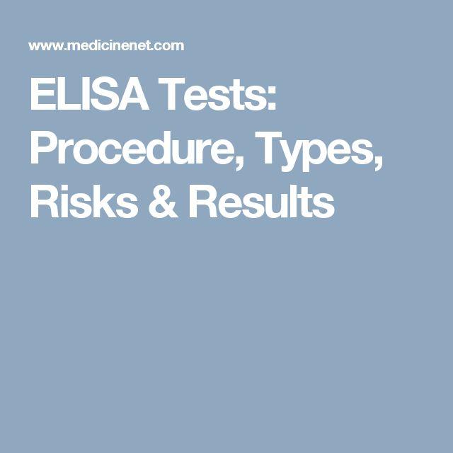 ELISA Tests: Procedure, Types, Risks & Results