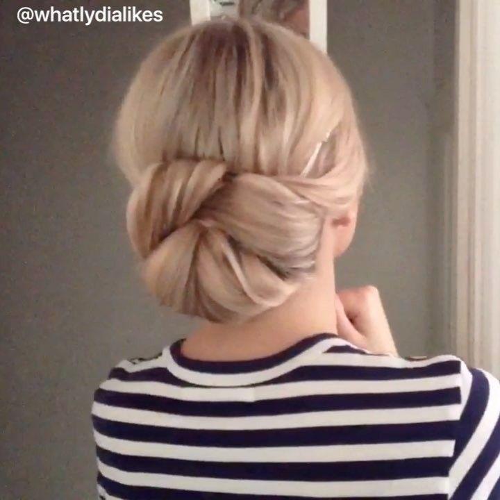 Einfache Hochsteckfrisuren: Diese Frisuren kriegt jeder hin!
